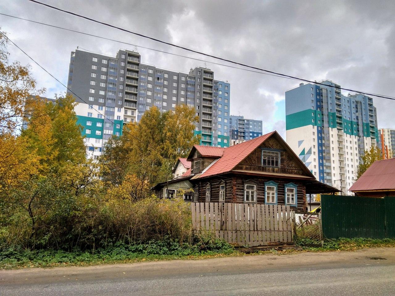 Новая Охта. Самый восточный КП маршрута